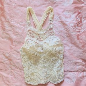 Only hearts lace top